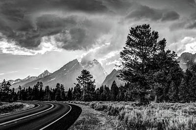 Photograph - Grand Teton National Park Storm - Jackson Hole  - Wyoming by Gary Whitton