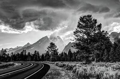 Photograph - Grand Teton National Park Storm - Jackson Hole  - Wyoming by Gary Whitton