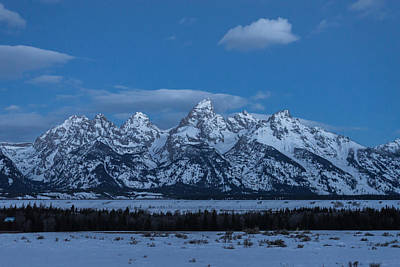 Photograph - Grand Teton National Park Sunrise by Serge Skiba