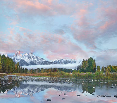 Grand Teton National Park, Wyoming Art Print