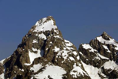Photograph - Grand Teton Peak by Dan Sproul