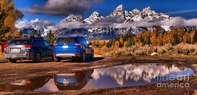 Photograph - Grand Teton Premier Parking by Adam Jewell