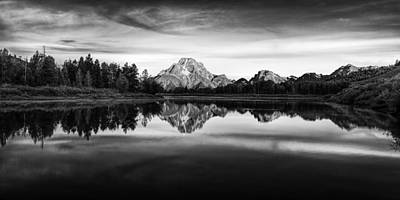 Mountain Royalty-Free and Rights-Managed Images - Grand Teton Reflections by Andrew Soundarajan