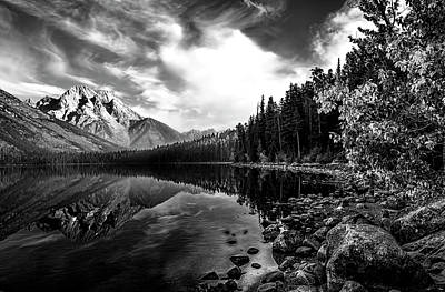 Photograph - Grand Teton Reflections by Maria Coulson