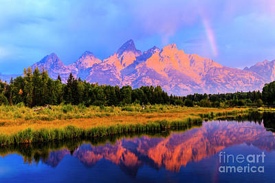 Photograph - Grand Teton Sunrise by Ben Graham