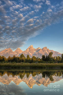 Teton Mountains Photograph - Grand Teton Sunrise Jackson Hole Wy by Dustin K Ryan