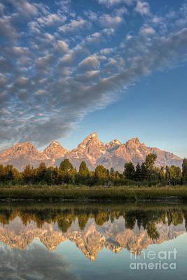 Grand Teton Sunrise Jackson Hole Wy Print by Dustin K Ryan