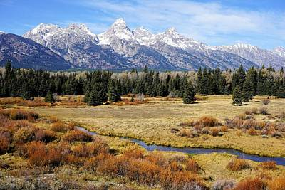 Photograph - Grand Teton by Tranquil Light Photography
