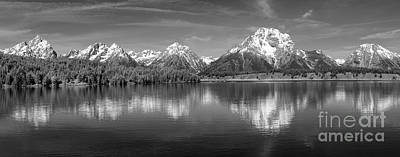Photograph - Grand Teton Tranquility by Sandra Bronstein