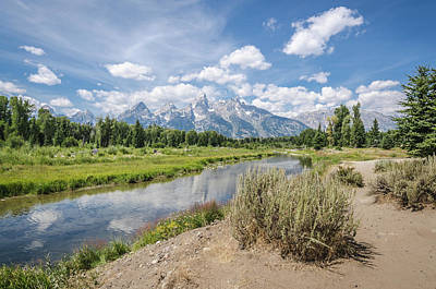 Photograph - Grand Teton View No.1 by Margaret Pitcher