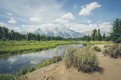 Photograph - Grand Teton View No.2 by Margaret Pitcher