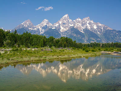 Grand Teton View Art Print by Phil Stone