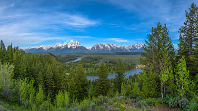 Photograph - Grand Teton Vista by Darren  White