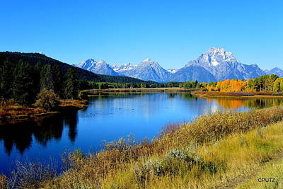 Photograph - Grand Tetons 1 by Carrie Putz