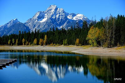 Photograph - Grand Tetons 2 by Carrie Putz