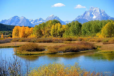 Photograph - Grand Tetons 3 by Carrie Putz