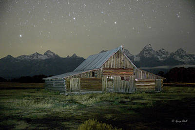Photograph - Grand Tetons by Gerry Sibell