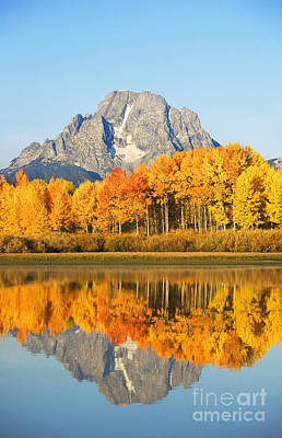 Grand Tetons In Autumn 2 Art Print by Ron Dahlquist - Printscapes