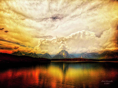 Photograph - Grand Tetons - Jenny Lake No. 2 by Chuck Caramella