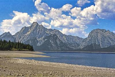 Photograph - Grand Tetons by NaturesPix