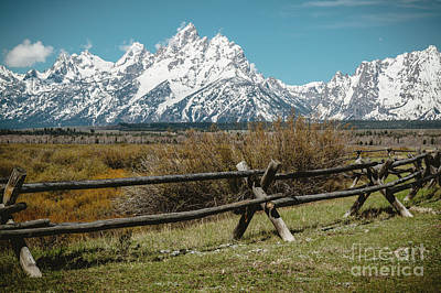 Photograph - Grand Tetons by Pam  Holdsworth