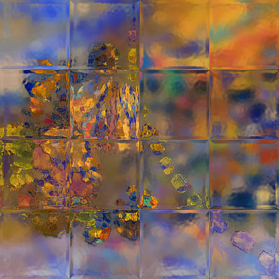 Digital Art - Grand Tiles by Constance Krejci