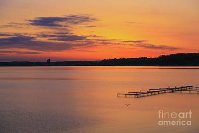 Photograph - Grand Traverse Bay East by Rachel Cohen
