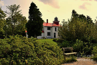 Photograph - Grand Traverse Lighthouse #2 by Amy Lucid