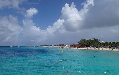 Photograph - Grand Turk Beach by Lois Lepisto