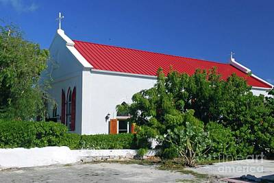 Photograph - Grand Turk Church by Gary Wonning