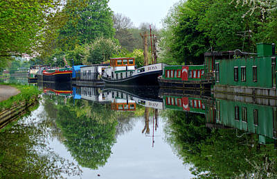Photograph - Grand Union Canal Cowley West London by Chris Day