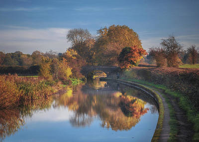 Refelctions Photograph - Grand Union Reflection by Chris Fletcher