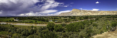 Grand Valley Panoramic Art Print by Teri Virbickis
