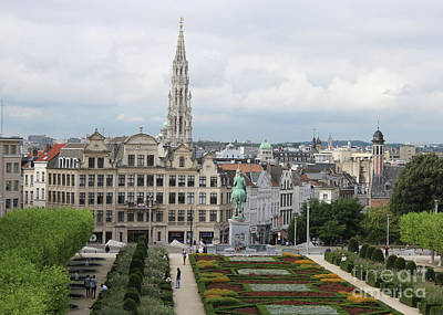 Photograph - Grand View Of Brussels by Carol Groenen