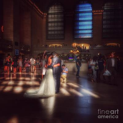 Photograph - Grand Wedding In Grand Central by Miriam Danar
