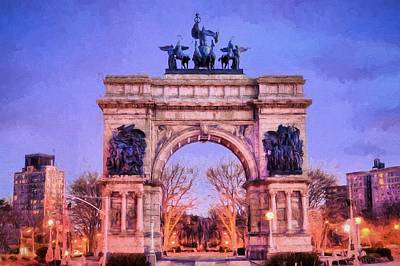 Photograph - Grande Army Plaza by JC Findley