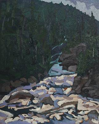 Painting - Grande Chute Morning by Phil Chadwick