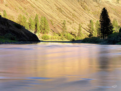 Photograph - Grande Ronde River by Leland D Howard