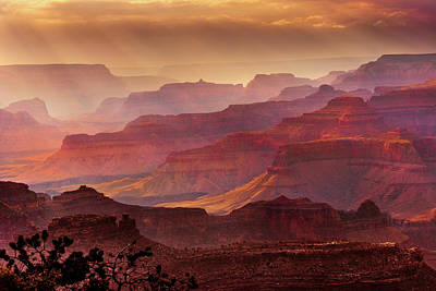 Grand Canyon Photograph - Grandeur by Mikes Nature