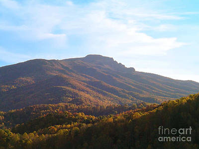 Photograph - Grandfather Mountain by Annlynn Ward