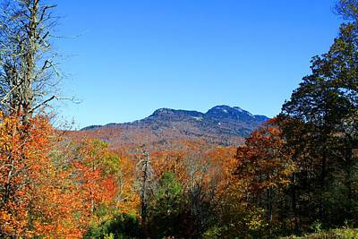 Photograph - Grandfather Mountain by Kathryn Meyer