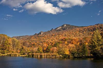 Photograph - Grandfather Mountain Profile by Ken Barrett