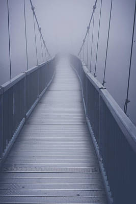 Photograph - Grandfather Mountain Suspension Bridge One Mile High by Tammy Ray