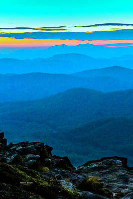 Photograph - Grandfather Twilight by Dale R Carlson