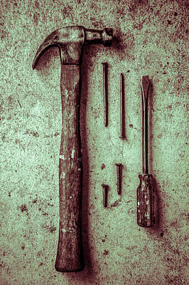 Photograph - Grandfather's Tools 2 by Michael Arend