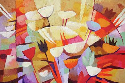 Painting - Grandiflora by Lutz Baar