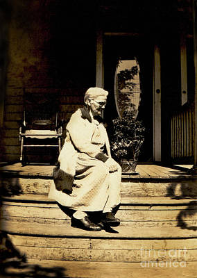 Art Print featuring the photograph Grandma Jennie by Paul W Faust - Impressions of Light