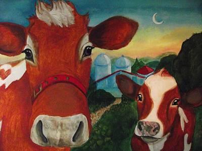 Dog Clothes Painting - Grandma Josephine's Farm by Nichole Williamson