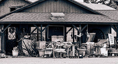 Photograph - Grandma's Attic by Donna Lee