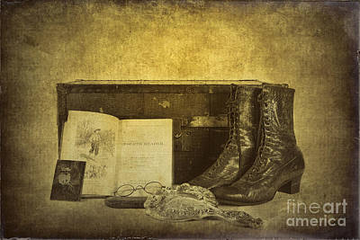 Photograph - Grandma's Attic by Erika Weber